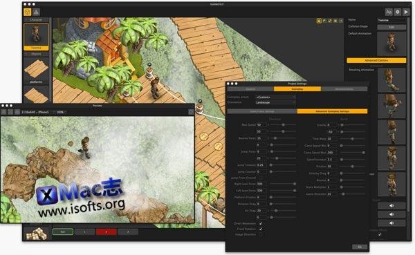 [Mac]拖拽式游戏开发制作工具 : Buildbox
