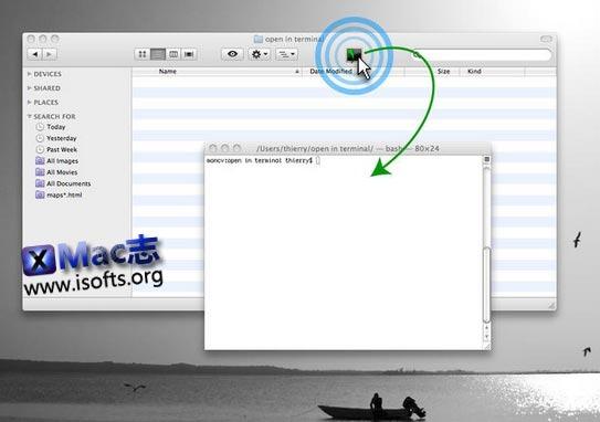 [Mac]在终端中打开指定目录 : OpenInTerminal