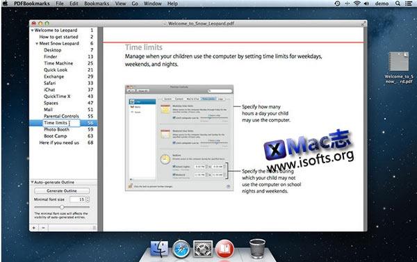 [Mac]PDF书签管理工具 : PDFBookmarks