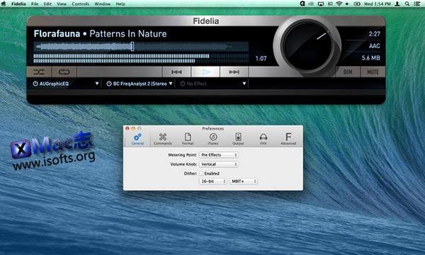 [Mac]高品质音乐播放器 : Fidelia