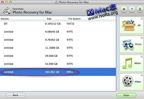 [Mac]数据误删除恢复软件 : Tenorshare Photo Recovery