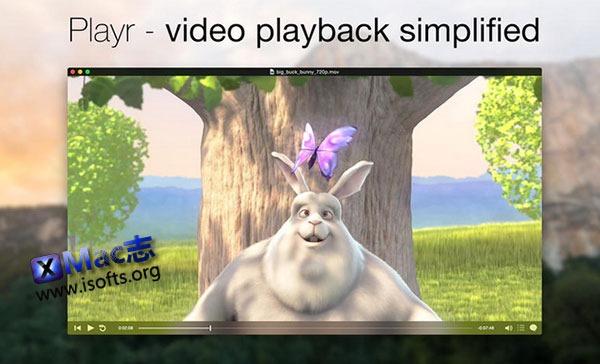 [Mac]极简的视频播放器 : Playr