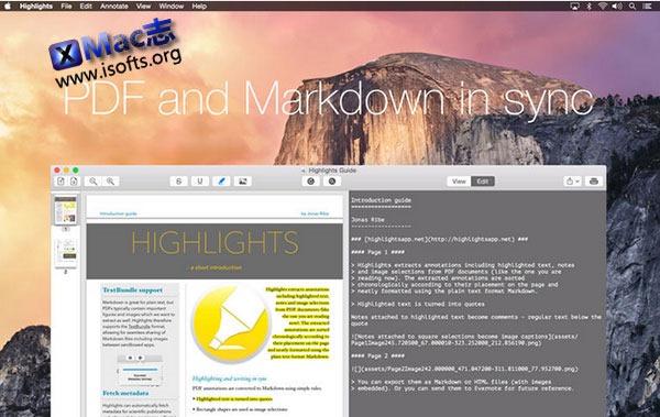 [Mac]PDF注释并提取指定内容 : Highlights