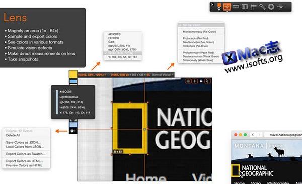 [Mac] UI设计工具 : QuickLens