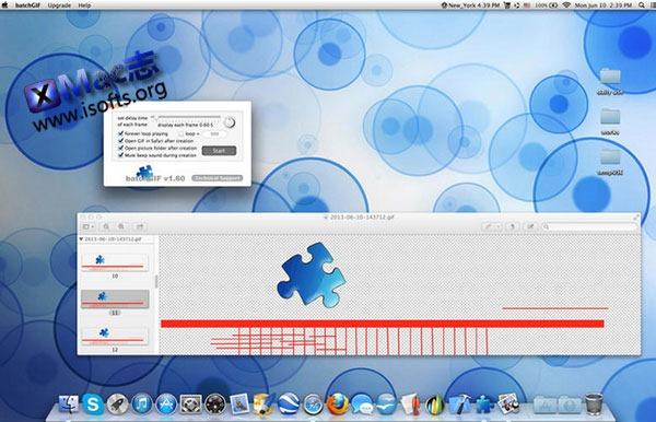[Mac] GIF动画图片快速制作工具 : batchGIF