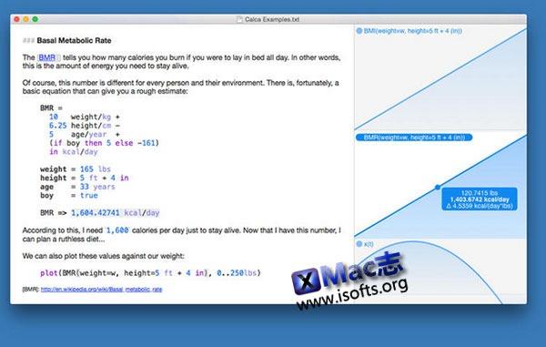 [Mac]功能强大的科学计算工具 : Calca