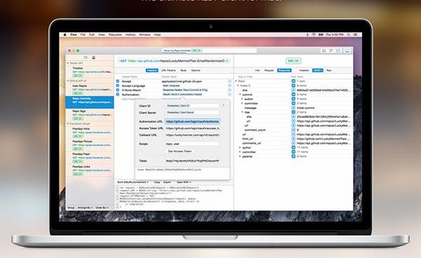 [Mac] HTTP客户端模拟测试工具 : Paw