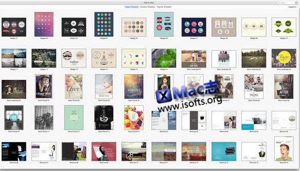 [Mac] iWork模板套件:  Suites for iWork