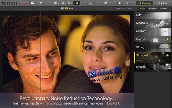 [Mac] 图片降噪工具 : Noiseless