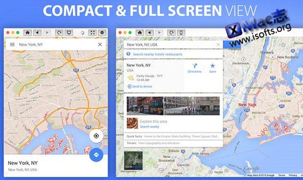 [Mac]专业的地图软件 : Atlas for Google Maps