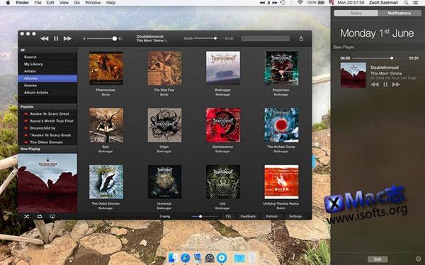[Mac] Google音乐及YouTube视频播放器 : Gear Player