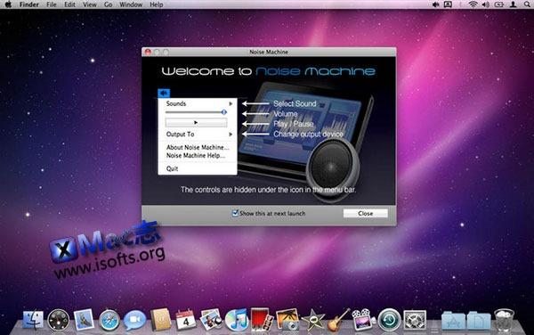 [Mac] 白噪音软件 : Noise Machine