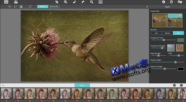 [Mac] 怀旧风格图像制作工具 : RipPix