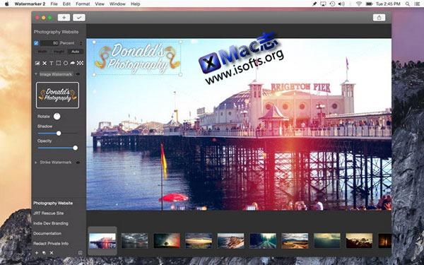 [Mac]  图像水印添加工具 : Watermarker