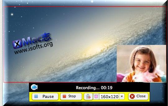 [Mac] 专业的屏幕录像工具 : Apowersoft Mac Screen Recorder