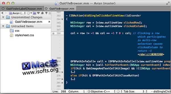 [Mac] 文本编辑器 : TextMate