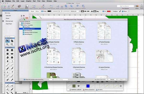 [Mac]地图绘制工具 : Ortelius
