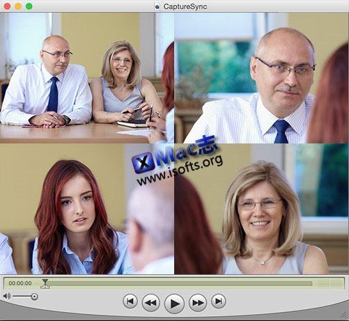 [Mac] 多摄像头视频与音频的录制软件 : CaptureSync