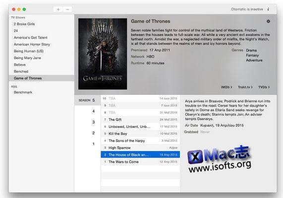 [Mac] 最新资讯新闻客户端 : Otomatic