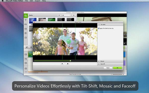 [Mac] 视频编辑处理工具 : iSkysoft Video Editor