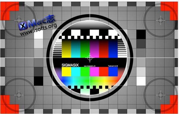 [Mac] 显示器色彩测试工具 : TestCard App