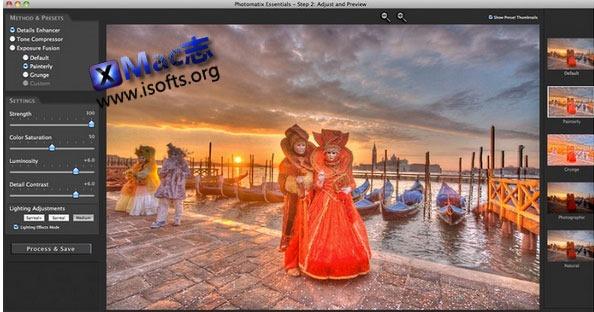 [Mac] HDR 照片处理软件 : Photomatix Essentials