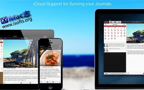 [Mac] 旅行日程记录本 : Capture 365 Journal