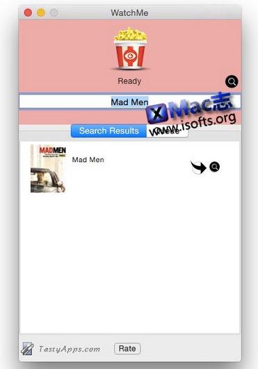 [Mac] 电视插曲搜索及下载工具 : WatchMe