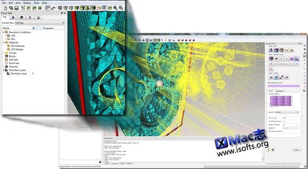 [Mac] FEA和CFD预处理器 : Csimsoft Trelis Pro