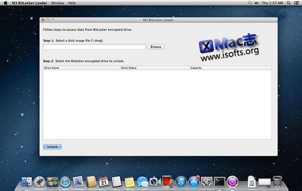[Mac] 加密磁盘读取工具 : M3 Bitlocker Loader