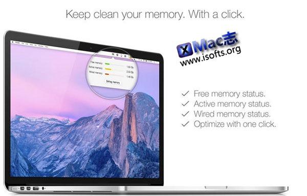 [Mac] 一键内存整理工具 : Memory Defrag