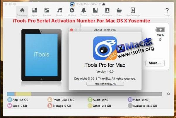 [Mac] iOS设备管理工具 : iTools Pro