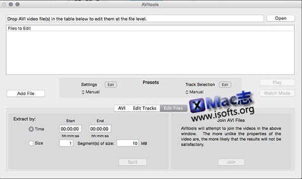 [Mac] avi格式转换工具: AVItools