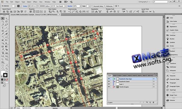 [Mac] 地图设计出版插件 : Avenza MAPublisher for Adobe Illustrator