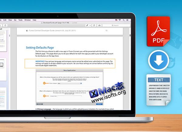 将 PDF 文档转换为文本 : Cisdem PDFtoTextConverter for Mac