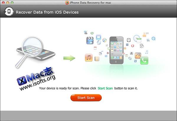 [Mac] iPhone数据恢复工具 : Tenorshare iPhone Data Recovery