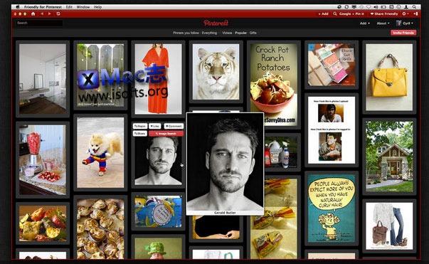 [Mac] Pinterest客户端 : Friendly for Pinterest