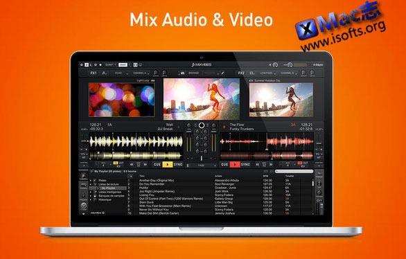 [Mac] DJ混音软件 : Cross DJ