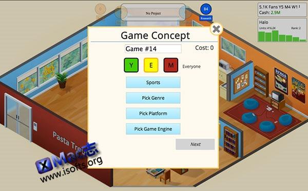 [Mac] 模拟经营游戏 : Game Dev Tycoon
