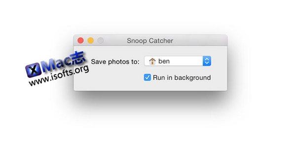 [Mac] 电脑唤醒后自动拍照存档 : Snoop Catcher