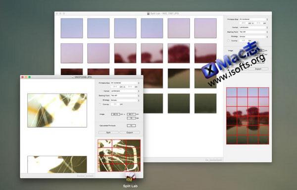 [Mac] 图片分割工具 : Split Lab