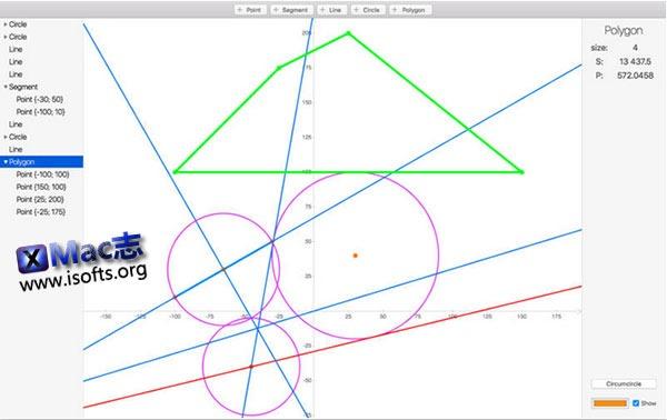 [Mac] 几何图形绘制工具 : GeomProcessor