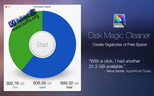 [Mac]磁盘垃圾清理工具 : Disk Magic Cleaner