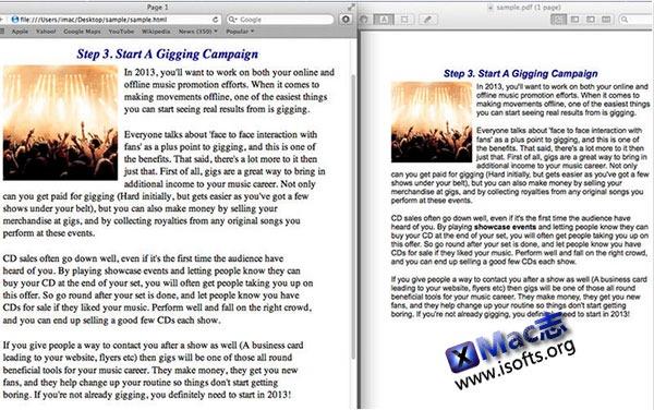 [Mac] 将任何文档转换成PDF文档 : PDF Creator Plus
