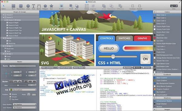 [Mac] 矢量图形绘图工具 : WebCode