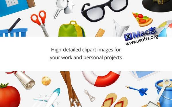 [Mac] 剪贴画素材包 : Clipart Prime