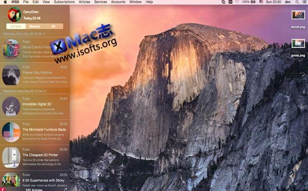 [Mac] RSS阅读器 : iRSS