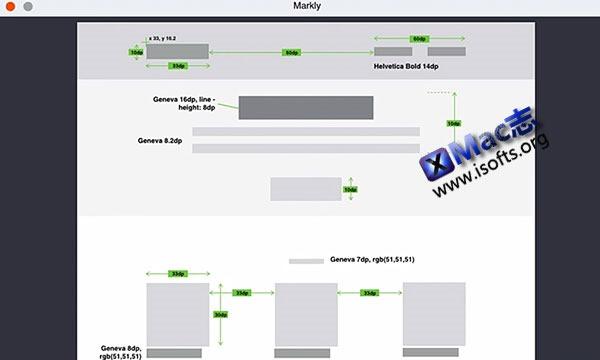 [Mac] 软件界面UI设计工具: Markly