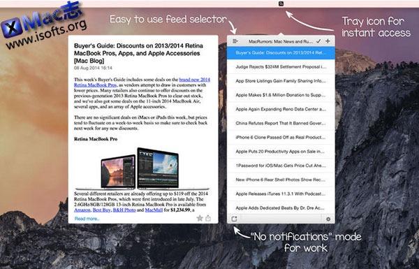 [Mac] RSS 阅读器 : RSS Reader