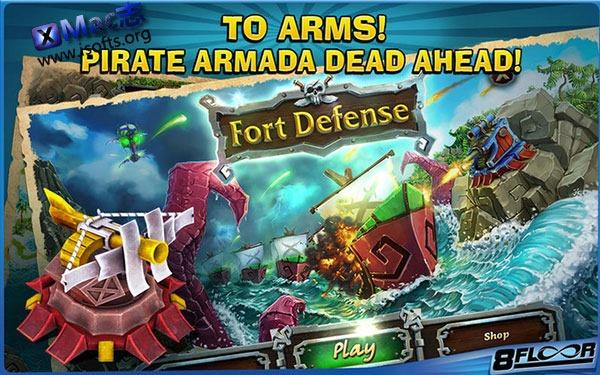 [Mac]塔防类游戏 : Fort Defense(海盗防御)